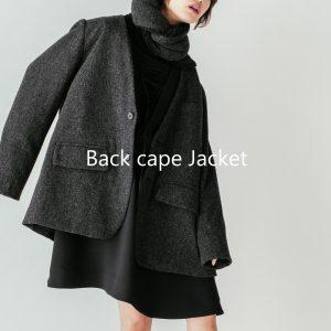 Back cape Jacket