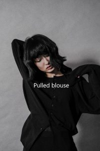 Pulled blouse