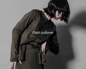 Slash pullover