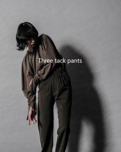 Three tack pants